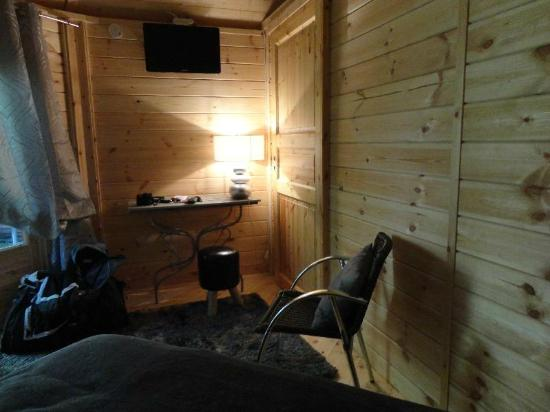 Hostellerie Normande : la chambre yourte