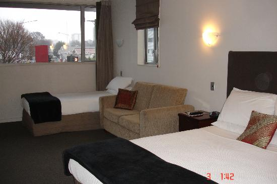 City Central Motel Apartments: Great Room Size