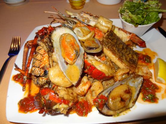 Hippocampe: Chef's Seafood Selction