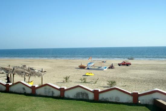 Sugati Beach Resort: View from Ocean View Room