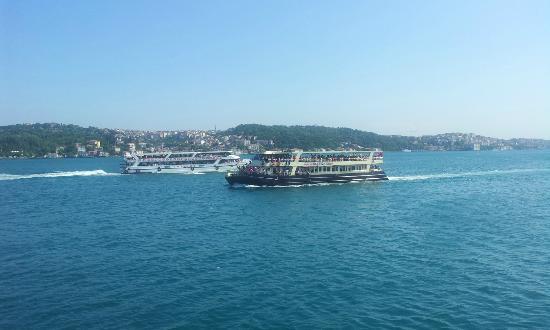 Holiday Inn Istanbul City: Golden Horn and Bosphorus taken from Gulah Park