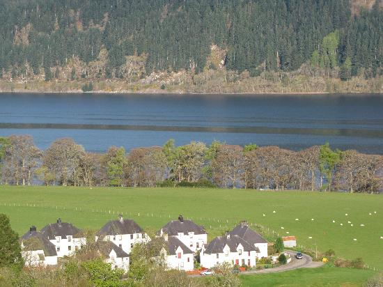 Lodges on Loch Ness: View from the terrace