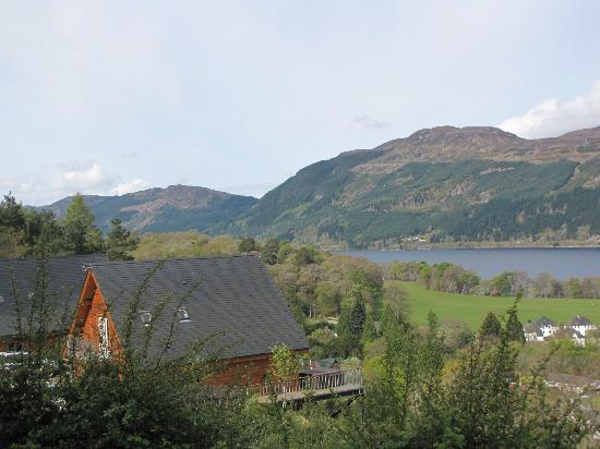 Lodges on Loch Ness: View from upstairs