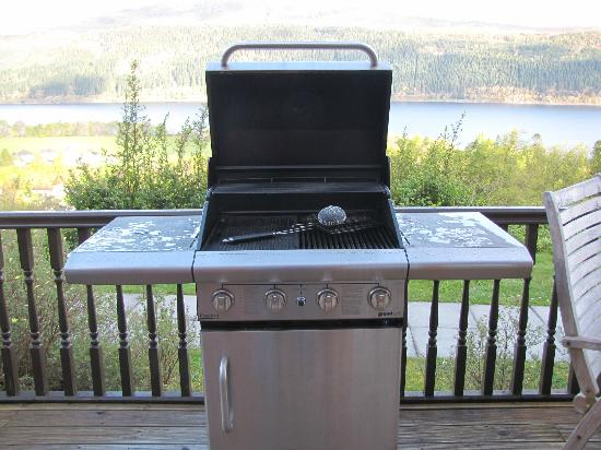 Lodges on Loch Ness: BBQ