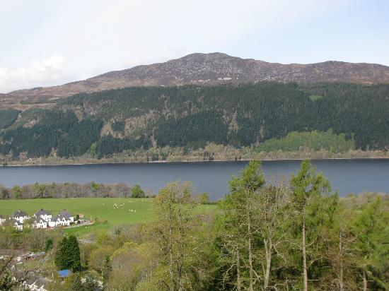 Lodges on Loch Ness: View from the living room