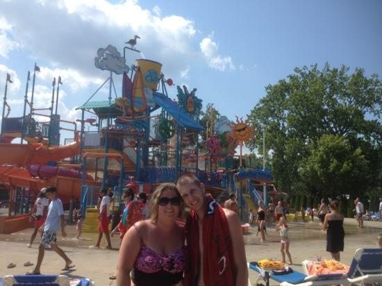 Cedar Point : soak city!