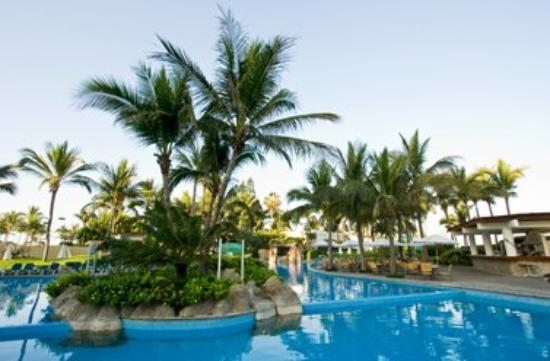 Ocean Breeze Hotel : Pool View