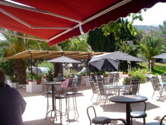 Finca La Mota Country Inn: Outside Terrace And Bar