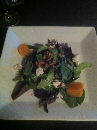 Cellar Bistro: Red and Golden Beet Salad was awesome