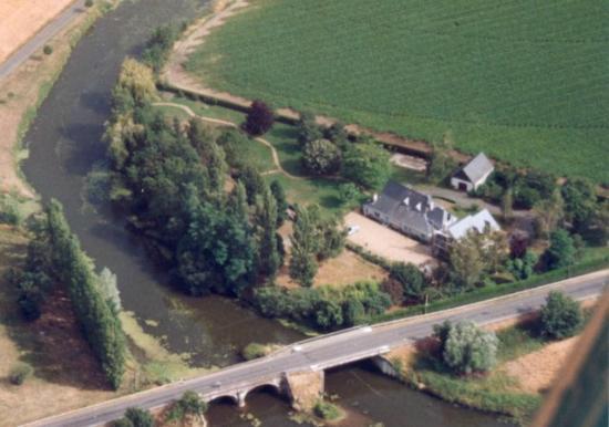 Rive Gauche : aerial view
