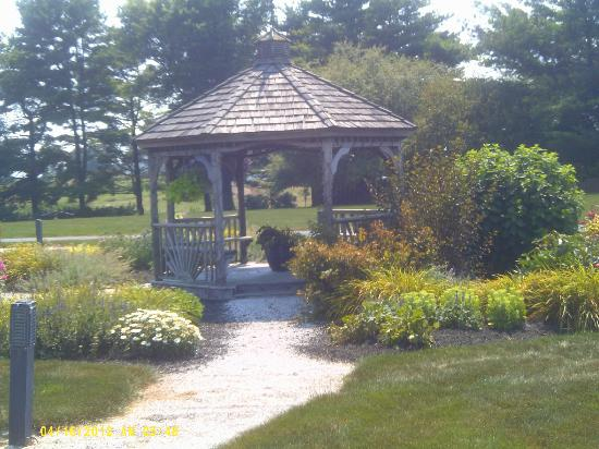 Twin Pine Manor Bed & Breakfast: The gazebo to sit and relax in!