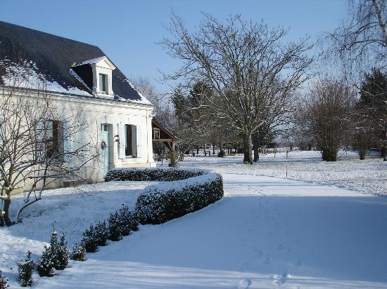 Rive Gauche : it rarely snows!