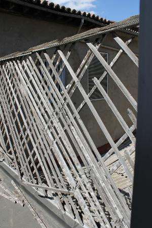 "Hotel Roma: Unser ""Balkon"""