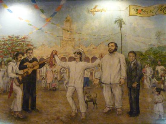 Fiesta Americana Merida: mural