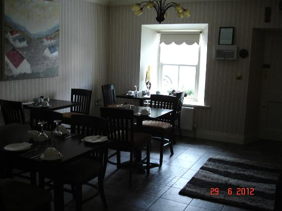 Jacob's Well Bed & Breakfast: dinning room