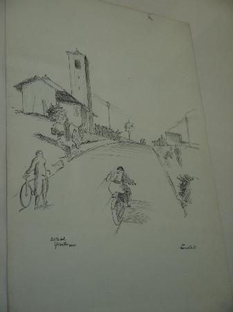 Casabella B&B : One of Enrico's drawings