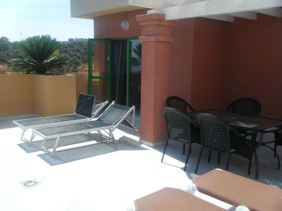 Holiday Palace : terraza