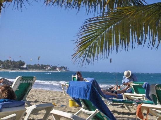 فندق فيلا تاينا: View from beach 