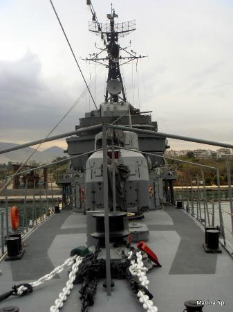 Floating Naval Museum Battleship Averof: Η πρύμνη του Αβέρωφ