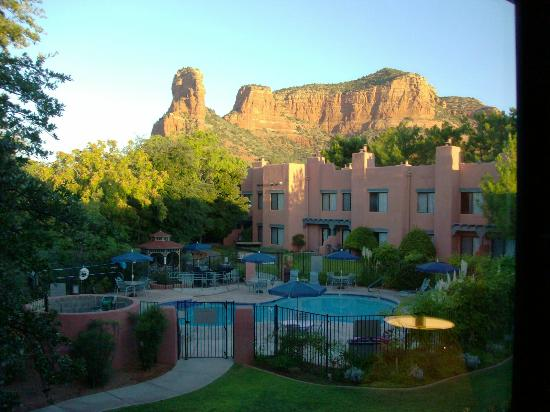 Bell Rock Inn- Our Room View Facing NW