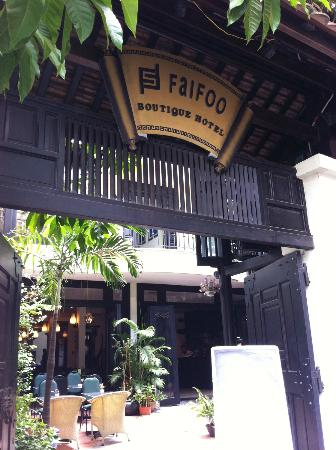 Faifoo Boutique Hotel: Entrance