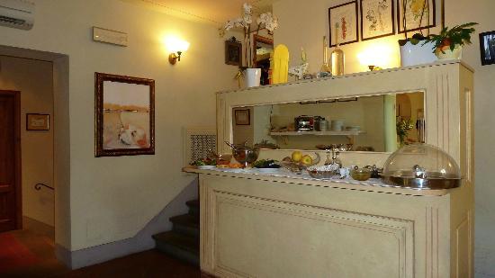 Palazzo San Niccolo': Palazzo San Niccolò-buffet colazione