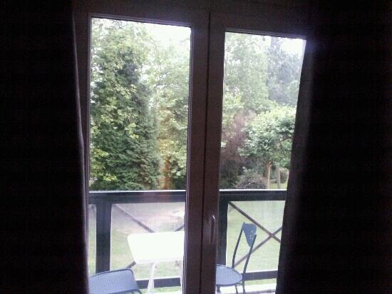 Hotel Du Pont : Vue d'une chambre ? l'H?tel du Pont