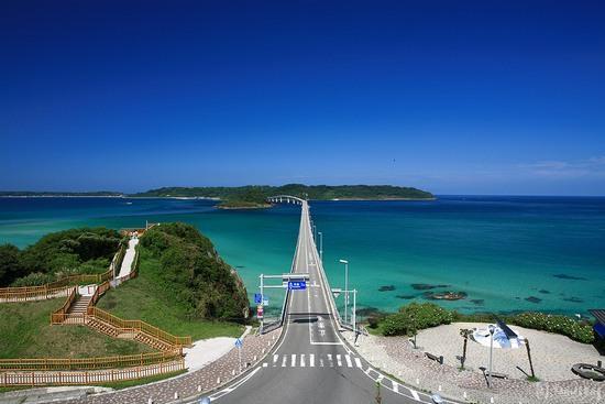 Tsunoshima Ohashi: 角島大橋