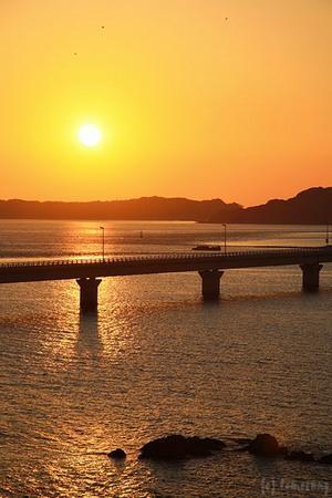 Tsunoshima Ohashi : 角島大橋