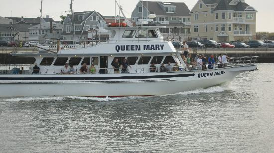 The crew picture of queen mary party fishing boat for Point pleasant fishing boats