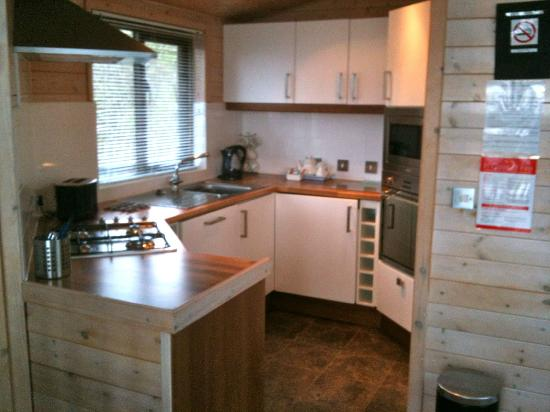 Belan Bach Lodges: Very good kitchen