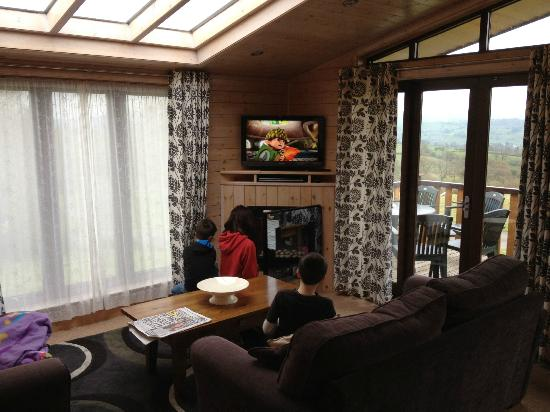 Belan Bach Lodges: good television
