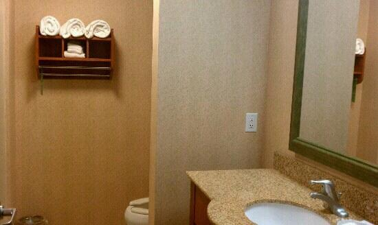 Hampton Inn & Suites Walla Walla: clean spacious bathroom