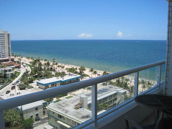 The Ritz-Carlton, Fort Lauderdale: other half of view from room