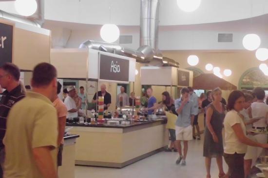 Aldiana Side: salle buffet de soir