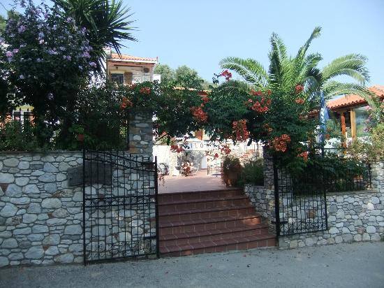 Filokalia Apartments: Main entrance