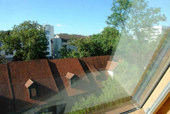 Ulm, Hotel Neuthor, view from window