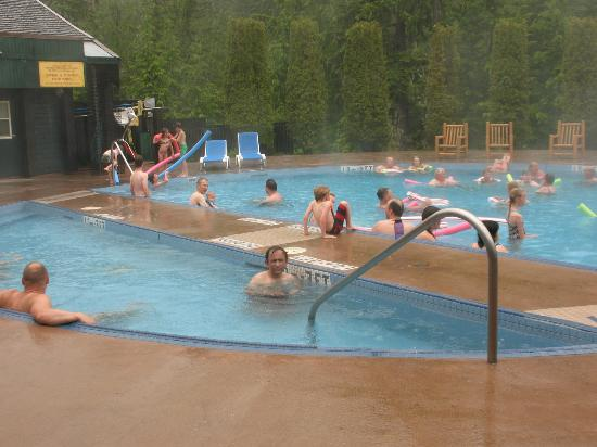 Nakusp Hot Springs with two pools