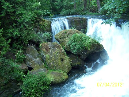 Bellingham, Etat de Washington : Whatcom Falls