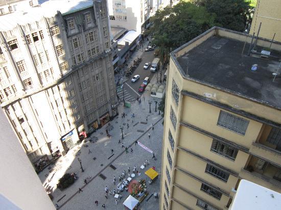 Hotel Del Rey: View from the bedroom window