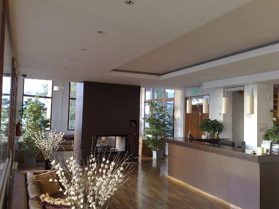 View Boutique Hotel: View of reception and the lounge/arrival area