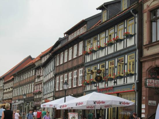 Brauhaus Wernigerode: Outside of brauerei