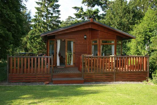 Lowestoft, UK: cabin at fritton lake