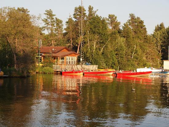 Inverness Falls Resort: Inverness Falls Marina & Boat Rental