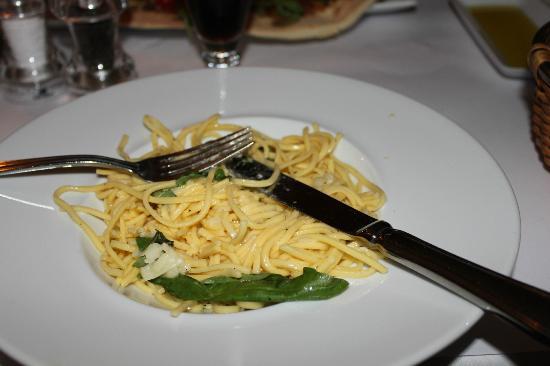 Trattoria Fiat : Pastaen var ikke så god
