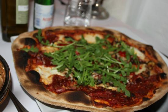 Trattoria Fiat : men pizzaen derimot, smakte bra