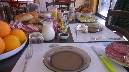 La Porta dell'Etna: завтрак(время оговорили с нами)