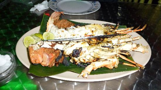 Aima Grill Fish Restaurant : cooked lobster