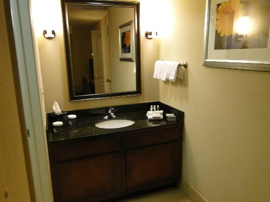 Homewood Suites by Hilton Minneapolis - Mall of America: Small vanity area outside bathroom