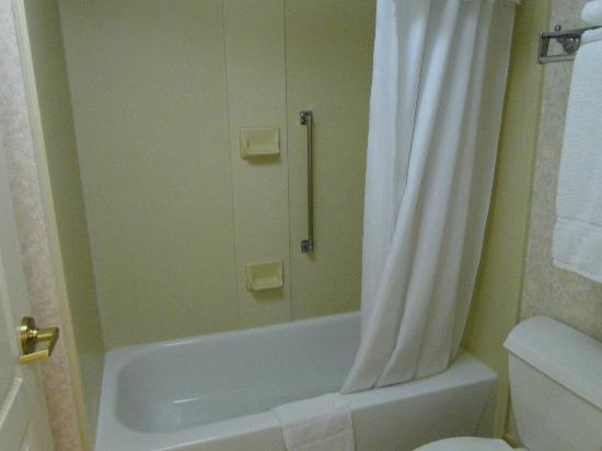 Homewood Suites by Hilton Minneapolis - Mall of America: Tiny bath with shower